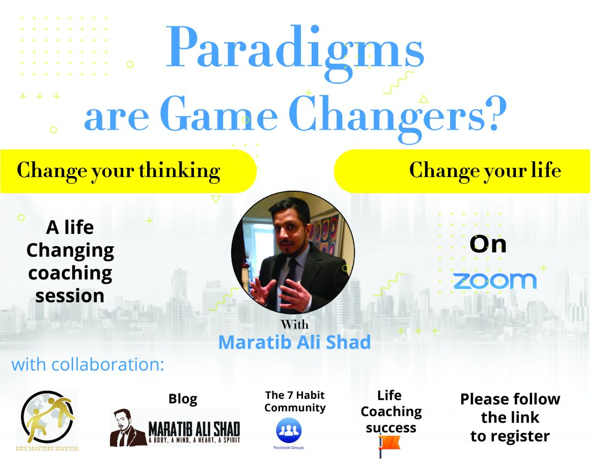 Paradigms are game changers?